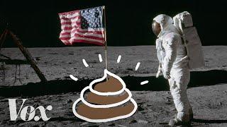 Astronauts left poop on the moon. We should go get it.