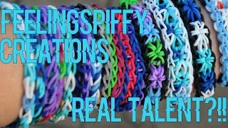Feelingspiffy/Rainbow Loom Creations