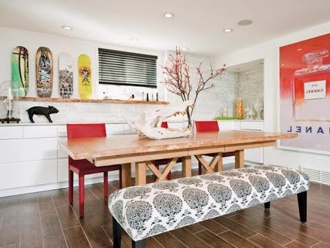 The Latest Trends In Decoration Of Modern Dining Rooms For 2018