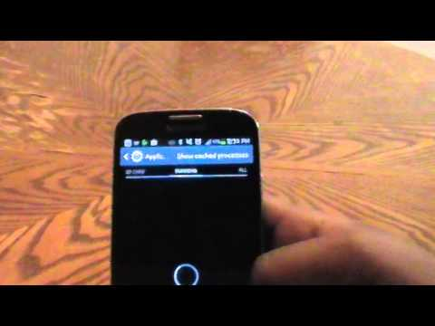 Fully manage applications on Samsung Galaxy S4