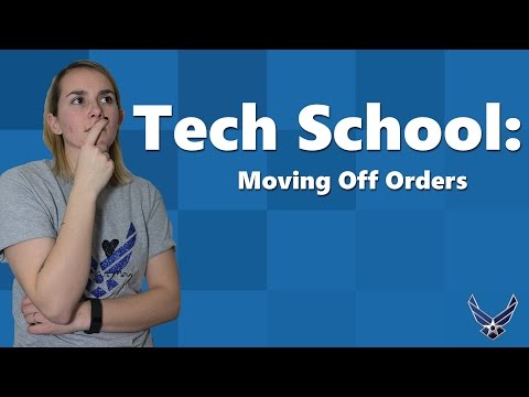 Can I Move to My Airman's Tech School if I'm NOT on Orders? [Tech School Less than 100 Days]