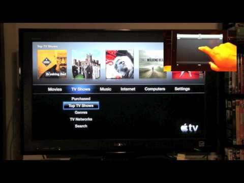 iPad: How to Use as a Remote for Apple TV | H2TechVideos