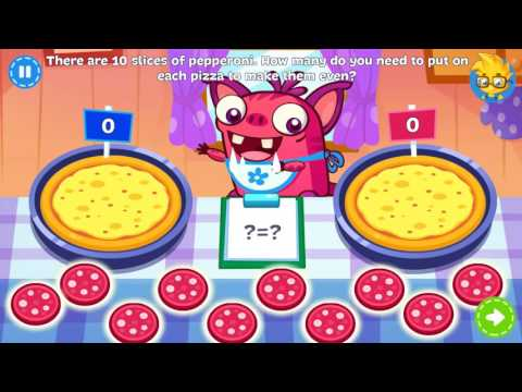 Fun Math Games for Little Kids🎃First Grade Math by Plarium Education  🚒Educational Math Games