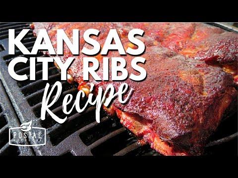 Kansas City Ribs - How to Make Kansas City Style Ribs on the BBQ