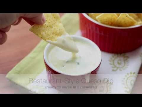 Restaurant-Style Queso Dip {a.k.a. Spicy White Cheese Dip}