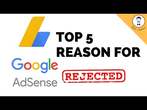 Why Adsense Approval is Rejected | Top 5 Mistakes in Adsense 2017