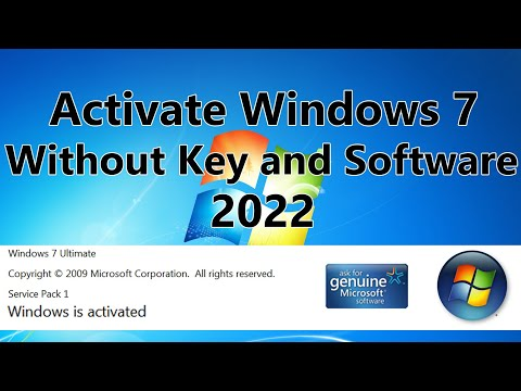 2018! Windows 7 Activation Without Software and Cracks for Free using batch file