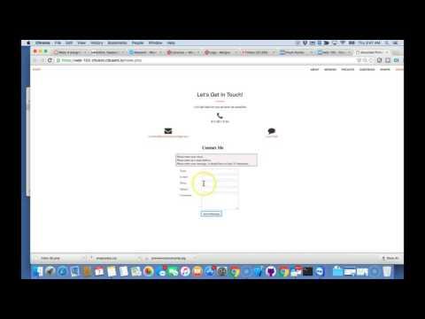 Web102 Validate JQuery, Ajax and Regex