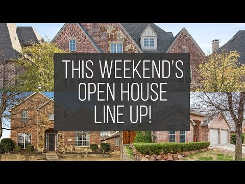 Open Houses: March 24th-25th
