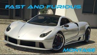 Fast & Furious -  A GTA V Montage