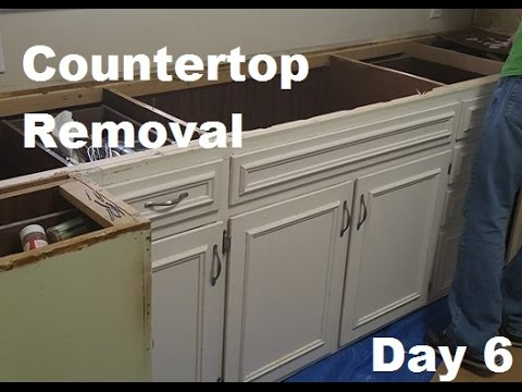 Kitchen Counter Removal - Kitchen Reno Day 6 | DIY Distress