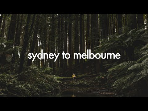 SYDNEY TO MELBOURNE ROAD TRIP