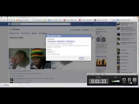 How To make Shared Albums On Facebook