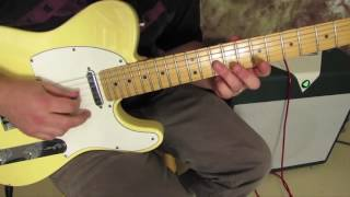 #1 Iconic blues lick (keep this in your pocket for Jam sessions)