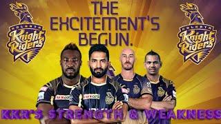 Ipl 2019 - Kkr Strength And Weakness | Ipl 2019 Full Analysis | Kolkata Knight Riders