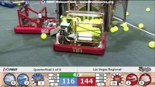 Quarterfinal 1 - 2017 Las Vegas Regional