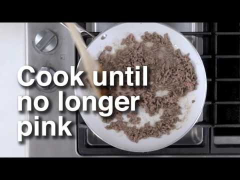 How to brown ground beef | Canadian Living