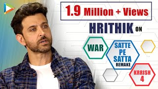 """Hrithik Roshan: """"Tiger Shroff Is Going to Be UNTOUCHABLE for Next  50 Years""""   WAR   Super 30"""