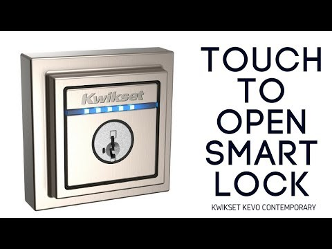 Kwikset Kevo Contemporary: Upscale Touch to Open Smart Lock