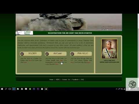 Join Pak Army Medical Cadet 2018 Online Registration