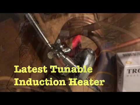 40kHz Induction Heater Test Run