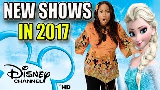10 New Disney Channel Shows Coming In 2017 | That's So Raven Spin Off & More!