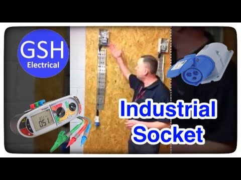Electrical testing a 16 amp socket for continuity and polarity