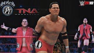 WWE 2K18: AJ Styles TNA Retro Attire w/ Short hair & no Beard (PC Mods)