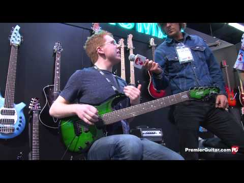 NAMM '13 - Sterling by Music Man John Petrucci JP70, AX40D, and John Petrucci JP100D Demos