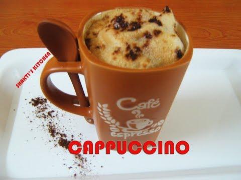 Coffee Cappuccino Recipe in Hindi- How to make Cappuccino- Homemade Cappuccino Recipe