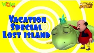 Motu Patlu Vacation Special -Lost Island - Compilation - As seen on Nickelodeon