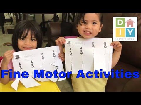 Activities to Improve Fine Motor Skills