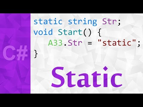 Static Keyword in C# 💻 A Tutorial With The Static Keyword Explained & It's Meaning