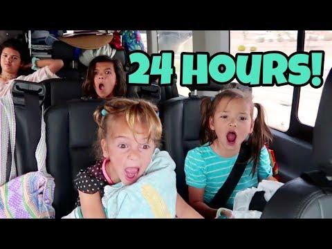 24 HOURS OVERNIGHT IN A VAN! Living in our VAN