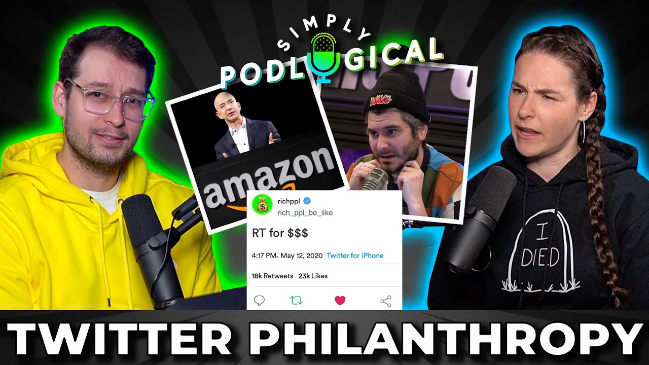 Twitter Philanthropy & Donation Shaming - SimplyPodLogical #13