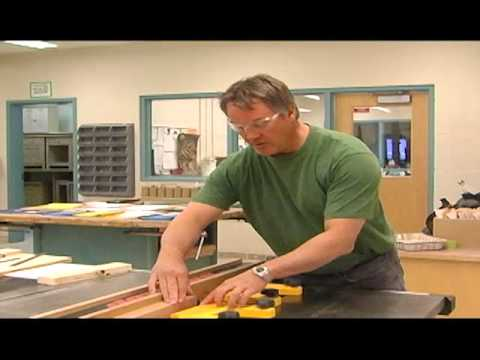 Table Saw - How to cut rabbets and dadoes.