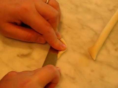 How to Shape Fresh Orecchiette