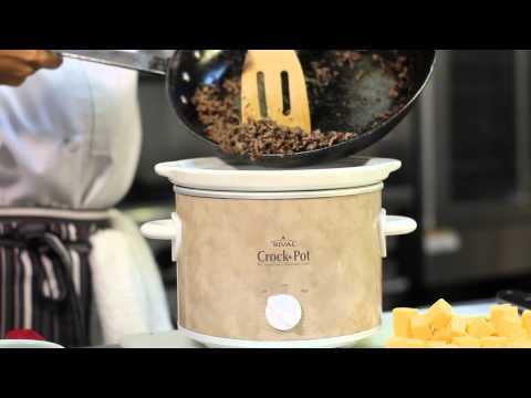 A Crock-Pot Appetizer With Velveeta & Ground Beef : Dip It