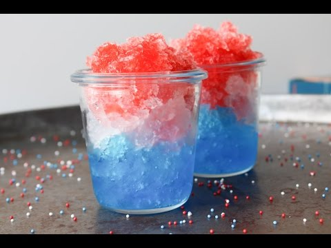 How To Make Soda Granita For The 4th Of July - By One Kitchen Episode 536