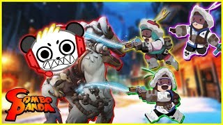 Overwatch Snow Ball Fight Let