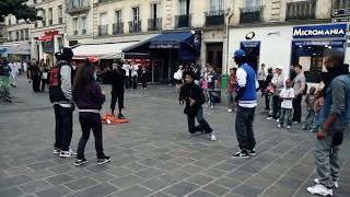 STREET BATTLE Les Twins VS. Bones The Machine+Pee Fly VS. Laura+Boubou   YAK FILMS