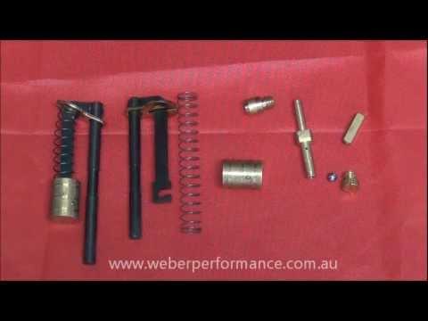 DCOE Weber Pump Circuit Description / Tuning