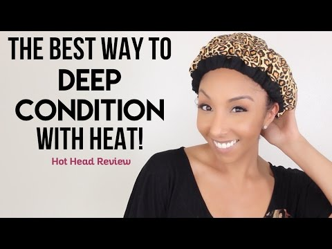 The BEST Way To Deep Condition With Heat! Hot Head Review! | BiancaReneeToday