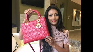7fa66a78d6ea New to me vintage Lady Dior Medium unboxing reveal