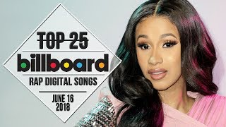 Top 25 • Billboard Rap Songs • June 16, 2018 | Download-Charts