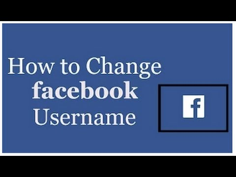 how to change facebook url In Telugu