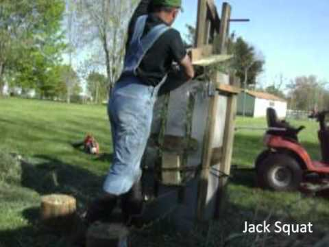 Baling hay without a baler!