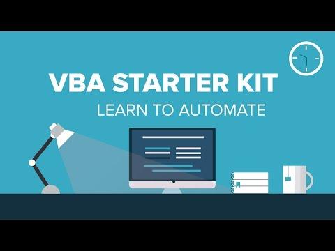 Basics of Excel VBA  | For Beginner