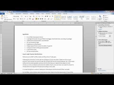 How to password-protect documents in Microsoft Word 2010