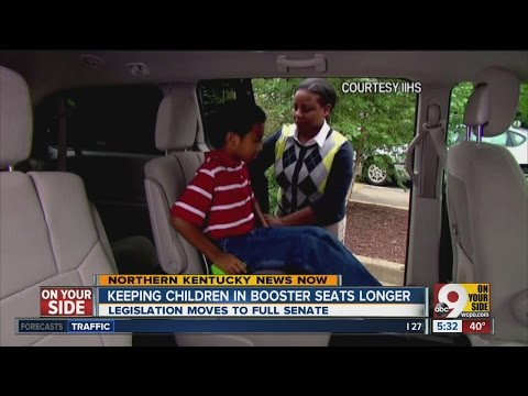Kentucky Lawmakers Poised To Approve New Booster Seat Law